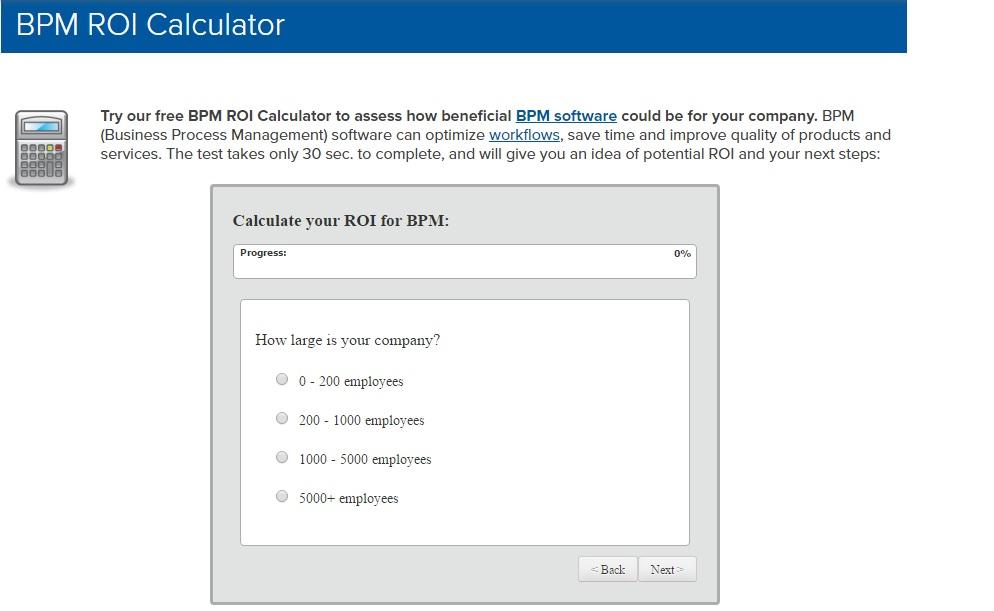 محاسبه نرخ بازگشت سرمایه BPMS