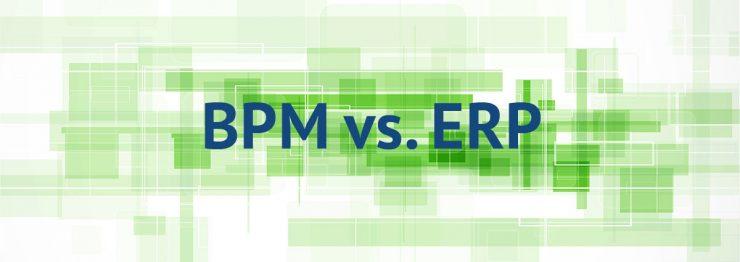 BPMS در مقابل ERP, تفاوت BPMS و ERP